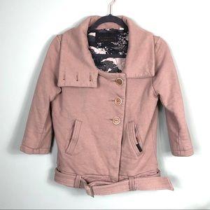Community Organic Cotton Crop Jacket Blush M